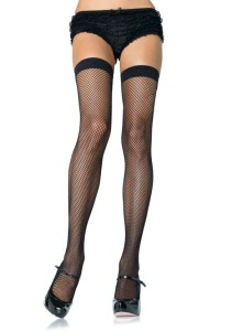 black_nylon_fishnet_stocking